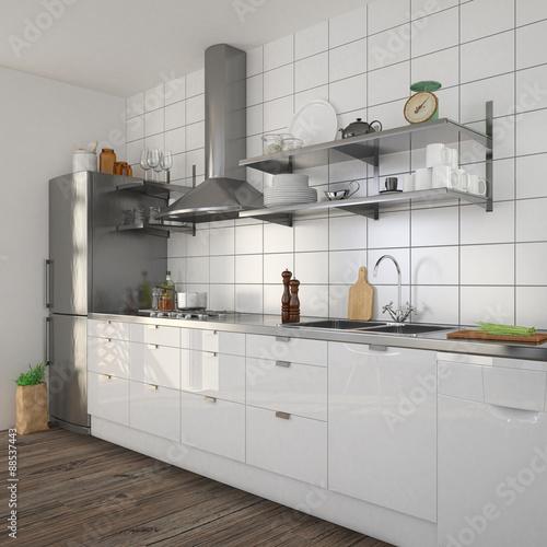 Offene Moderne Küche: Moderne Offene Kche. Kleine Offene Kuche Mit Wohnzimmer