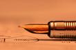 Antique pen