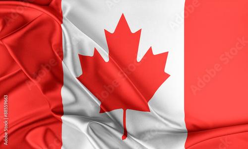 Foto op Canvas Canada Canada Flag.