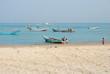 Socotra, fishing boats