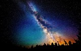 Fototapeta Kosmos - Звёздный Путь