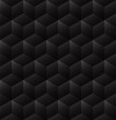 3d seamless cube background dark