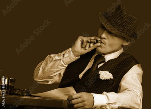 Photographie  Jeune gangster