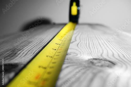 Fotografija  Tape measure wood