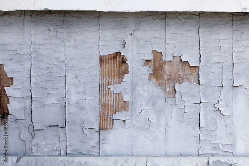 Fotografering  Distressed Building Wall
