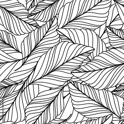 wektor-recznie-rysowane-doodle-pozostawia-bez-szwu