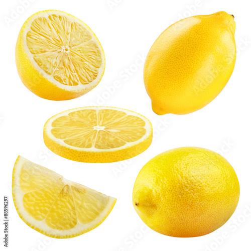 ripe lemon Fototapete