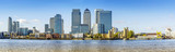 Fototapeta Londyn - Canary Wharf panorama, London