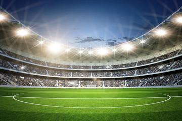 Fototapeta stadion piłkarski z murawy