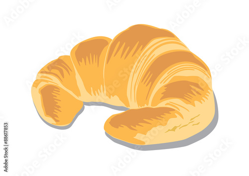Fototapeta croissant