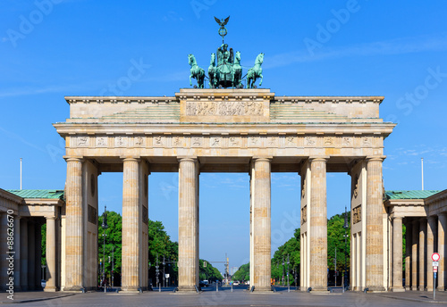 Photo  Brandenburg Gate (Brandenburger Tor), Berlin