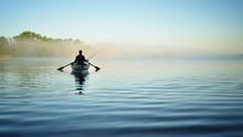Рыбалка утром на...