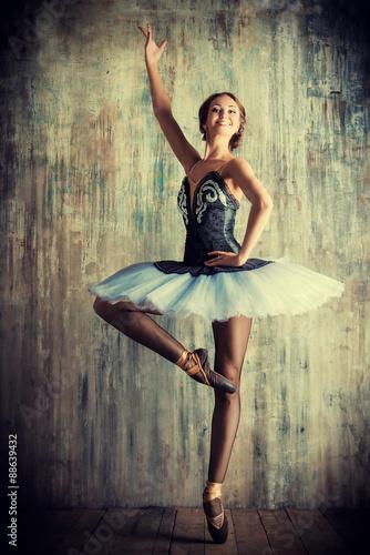 Fototapeta balerina art