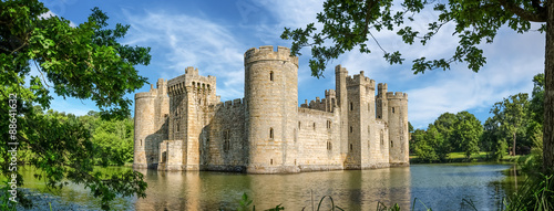 Foto op Plexiglas Kasteel Bodiam Castle in England