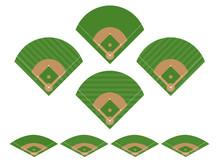 Set Of Baseball Fields 2