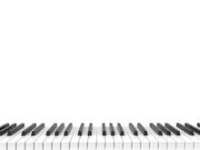 Black And White Shiny Piano Ke...