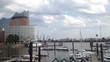 Hamburg im Zeitraffer. Elbphilharmonie/Hafen
