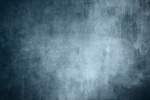 Blue Abstract Background On Canvas Texture