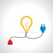 creative idea concept vector illustration