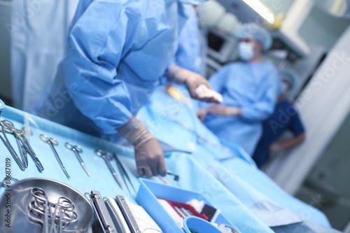 Fotografía  Surgery in the ICU