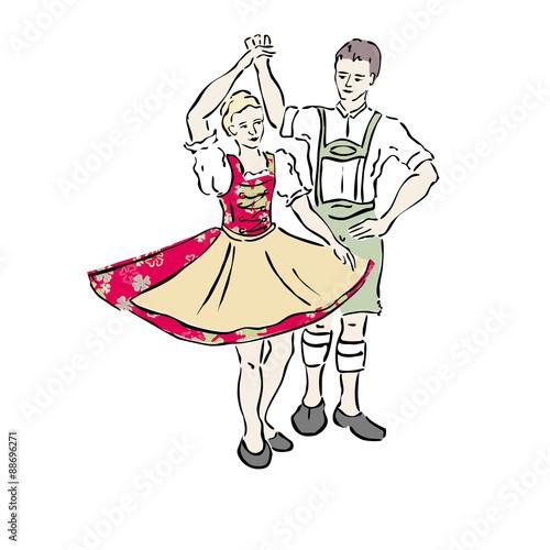 Valokuva  Tanzen in Bayern