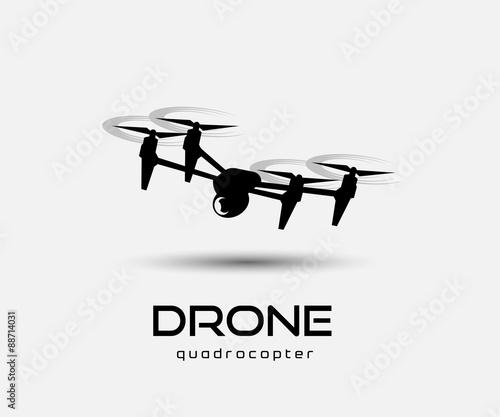Fototapeta drone quadrocopter obraz