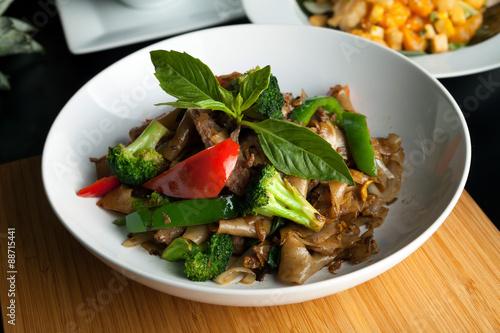 Drunken Noodle Thai Dish Tapéta, Fotótapéta