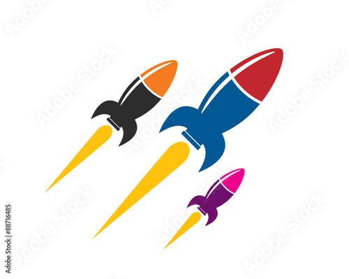 Valokuvatapetti rocket parade