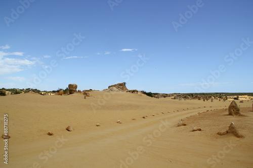 Staande foto Zandwoestijn ピナクルズ オーストラリア パース