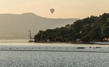 Sunrise Ballooning At Hartbeespoort Dam