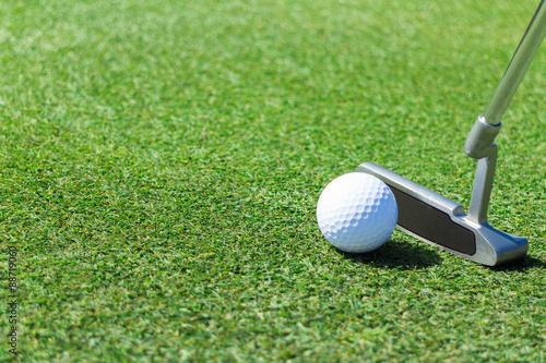 Foto op Plexiglas Golf ゴルフ グリーン