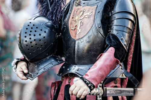 Fotografie, Obraz  cavaliere medievale