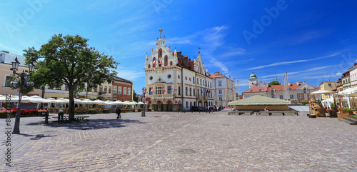 Rzeszow / the old town squere