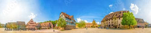 Foto op Plexiglas Panoramafoto s Kloster Maulbronn in der Nähe von Pforzheim