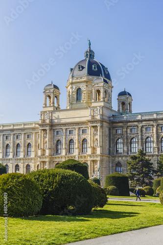 Photo  Museum of Natural History (Naturhistorisches), Vienna, Austria.