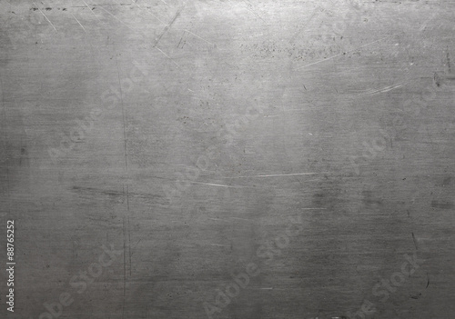 Polished steel texture Canvas Print