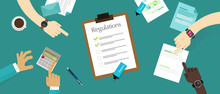 Regulation Law Standard Corporation Document Requirement