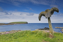 Whalebones At Birsay In Orkney
