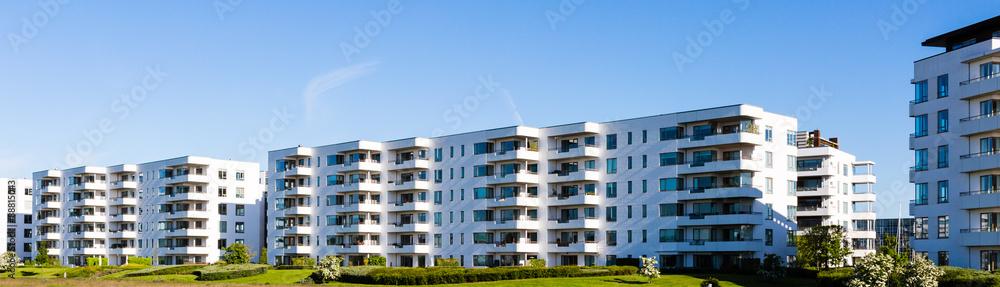 Fototapeta Modern residential building
