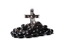 Catholic Rosary With A Crucifix