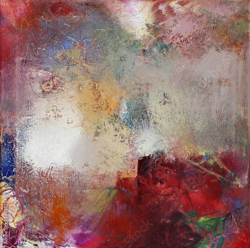 Fototapety, obrazy: pastose und lasierende Ölfarben auf Leinwand