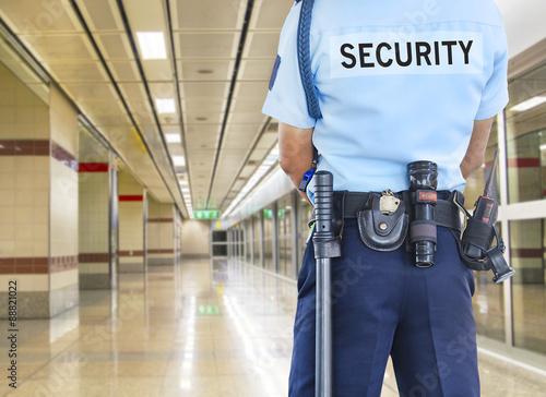 Fotografie, Tablou Security guard