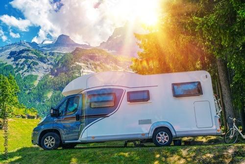 Poster Camping Camper Camping