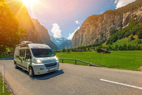 Poster Camping Camper Traveling