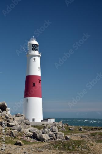 Foto op Aluminium Vuurtoren Lighthouse on Portland Bill in Dorset