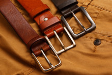 Leather Belts And Pants