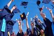 canvas print picture - high school graduates students