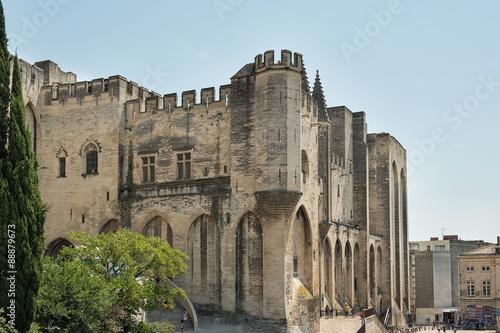 Fényképezés Papstpalast von Avignon | Provence
