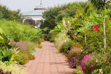 Daniel Stowe Canal Garden In Late Summer