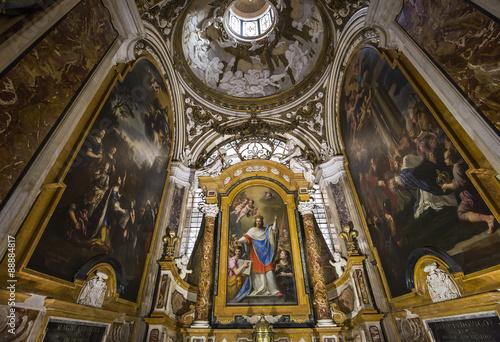 Fotografie, Obraz  Saint Louis des Francais church, Rome, Italy